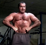 muscledad flexing huge chest muscles hairy dad.jpg