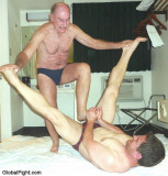 grandaddy wrestling his grandson hot steamy action.jpg