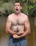 tarzan man yelling swamp hiking pictures.jpg