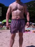 beefy hunks beach sandy guys lake resort.jpg