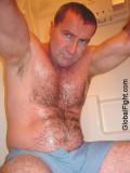 sweaty wet daddybear shower bathroom.jpg