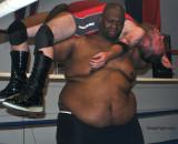 big fat black monster bear breaking dudes back.jpg