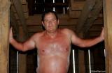 daddy climbing barn loft from cellar sweaty.jpg
