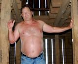 rancher dad climbing barn loft attic sweaty.jpg