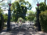 Gates of Royal Botanic Gardens, Melbourne