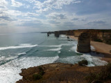 Twelve Apostles Visitor centre view
