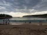 Port Campbell beach - another swim