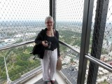 Elaine on the 88th floor, Eureka Tower