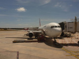 Our plane to Perth