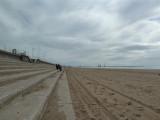 Aberavon Beach - steering clear of soft sand