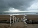 Stormy Aberavon sky