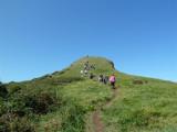 A steady trek