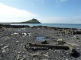 Abandoned anchor