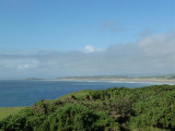 Looking across to Burry Holms