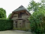 Barn in the Garden Yard