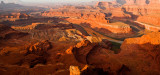 Colorado River Pano after Sunrise at Dead Horse Point