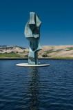 Sculptured guardian - Artesa Winery