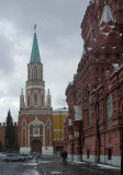 Entering Red Square