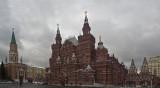 Looking back at the Historical Museum & Nkolskaya Tower