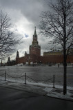 Across Red Square to the Spasskaya Tower