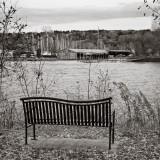 Boatyard View Bench