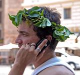 Roman phone call