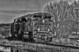 BNSF Engine 9268
