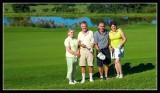 Umdoni - Jill, Ken, Russ and Sandra on the 18th hole.