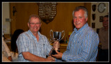 Charles Receives the Friendship Cup from Ken