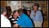 Ken Addresses the Golfers