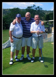 Brian, Attie and Russ have a laugh - by Douglas