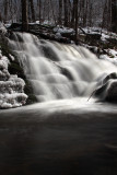 arnows falls during ice storm