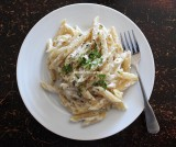 goat cheese penne