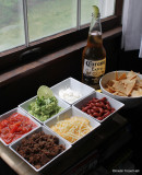 taco salad and dip fixings