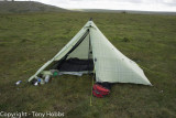 Dartmoor Camp MLD Cuben Duomid 20.8.12 (4th Camp!)
