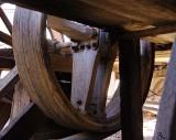 Wooden Wheel.
