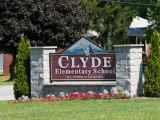 Clyde Elementary Bike Donation