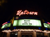 Outside the Uptown Theater on 12/3/11