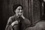 Old man in TianTouZhai
