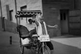 Bikecab driver in Beijing