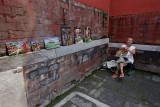 Painter inside the Forbidden City