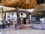 Simien Lodge bar -- the highest in Africa