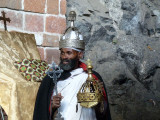 Cave church priest and relics