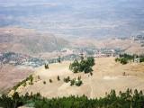 City of Lalibela from the Asheton Maryam Monastry