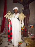 Priest with Relic Crosses