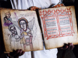 Early Bible illustrating the story of St Mary 2