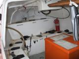 Lifeboat interior