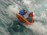 Auckland Islands zodiac outing