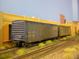 Boxcars are spotted at Klotz.