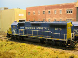 Michigan Interstate GP38-2 #3828